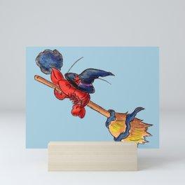 Salem Style Lobster Mini Art Print