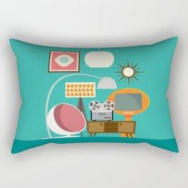 Junkshop Window Rectangular Pillow