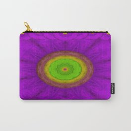 Feather Mandala in colors Carry-All Pouch