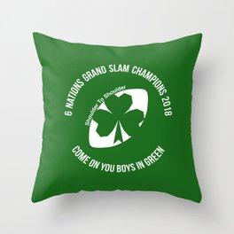 Ireland - Grand Slam Champions 2018 Throw Pillow