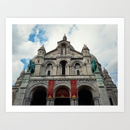Sacred Heart Paris Art Print