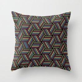 Diagonals #Geometric Diagonals #Repeating Pattern Throw Pillow