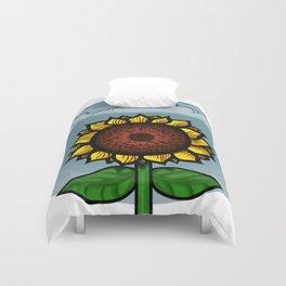 kitschy sunflower Duvet Cover