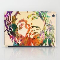 jesus iPad Cases featuring JESUS  by mark ashkenazi