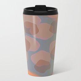 Peachy Colors Metal Travel Mug