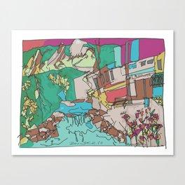 Boulder Color  Canvas Print