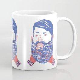 Animals in Beard Coffee Mug