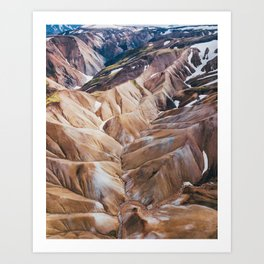 Iceland Highlands Art Print
