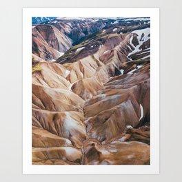 Iceland Highlands Art Print