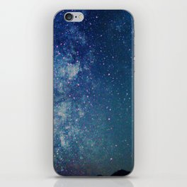 Milky Way Over the Tetons iPhone Skin