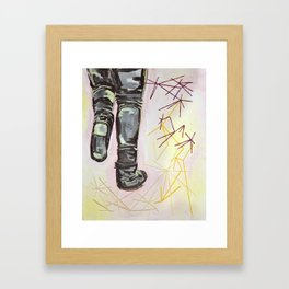 Make Sense  Framed Art Print