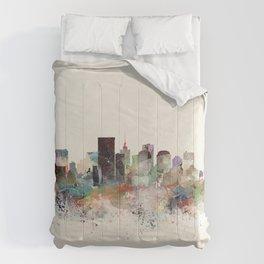 richmond virginia skyline Comforters