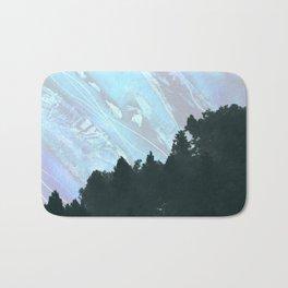 Abstract Nature Mountain Bath Mat