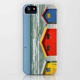southafrica ... muizenberg beach huts I iPhone Case