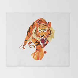 Tiger Throw Blanket
