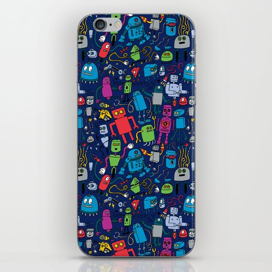 Robots Forever! iPhone & iPod Skin