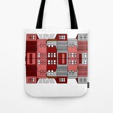 Row Houses  Tote Bag