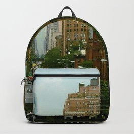 Traffic in Manhattan Backpack