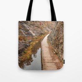 Paw Paw Boardwalk Trail Tote Bag