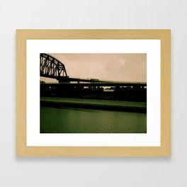 The colors of this World Framed Art Print