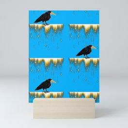 Le corbeau qui ... Mini Art Print