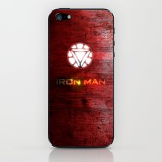 UNREAL PARTY 2012 AVENGERS IRON MAN FLYERS iPhone & iPod Skin