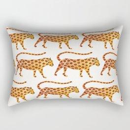 Jaguar Pattern Rectangular Pillow