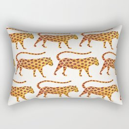 Jaguar Pattern Rectangular Pillow