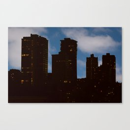 Night and Day - San Francisco Canvas Print