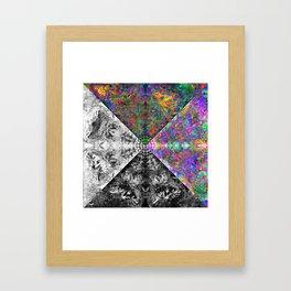 be just Framed Art Print
