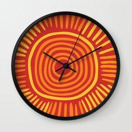 Big sun Wall Clock