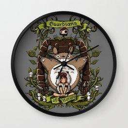 Guardians of nature Wall Clock