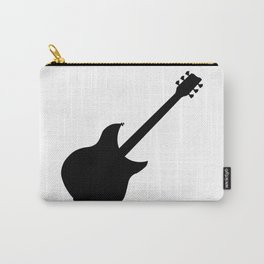 Electric Guitar Silhouette Carry-All Pouch