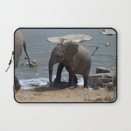 Baby elephant - Ellie Wen Laptop Sleeve