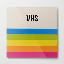VHS Retro Box Metal Print