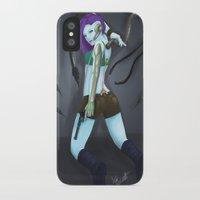 cyberpunk iPhone & iPod Cases featuring Cyberpunk by GrazilDesign