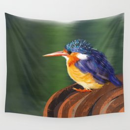 Kingfisher Wall Tapestry