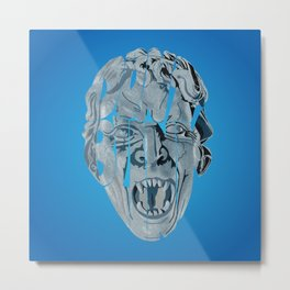 Don't blink weeping angel Metal Print