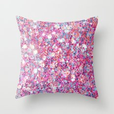 Twinkle Pink Throw Pillow