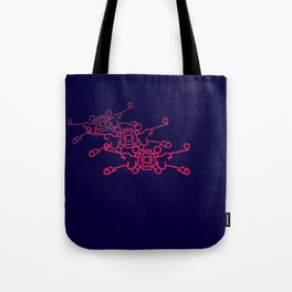 Red Five Tote Bag