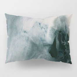 greyish brush strokes Pillow Sham