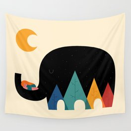 Dream In The Air Wall Tapestry