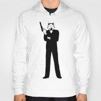 storm trooper Hoodies featuring Trooper... Storm Trooper 5 by Derek Donovan