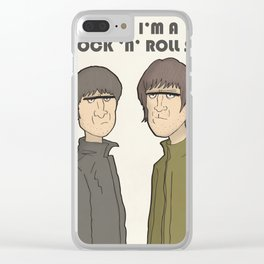 Tonight I'm a Rock 'n' Roll Star Clear iPhone Case