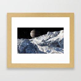 Exploring Europa Framed Art Print