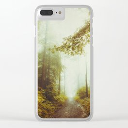 Path to Inner Peace Clear iPhone Case