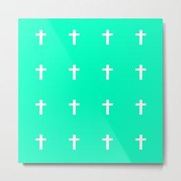 Cross Metal Print