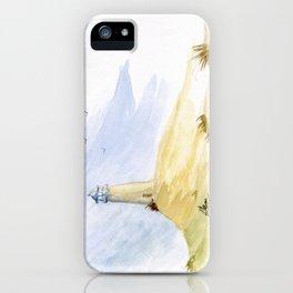 Lighthouse Impressions IV iPhone Case