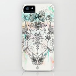 The Story of my heart by Luca Johnson iPhone Case