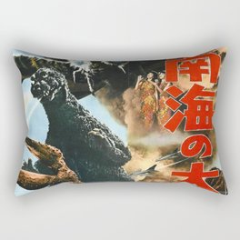 godzilla 6 Rectangular Pillow